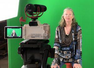 filmen met een greenscreen